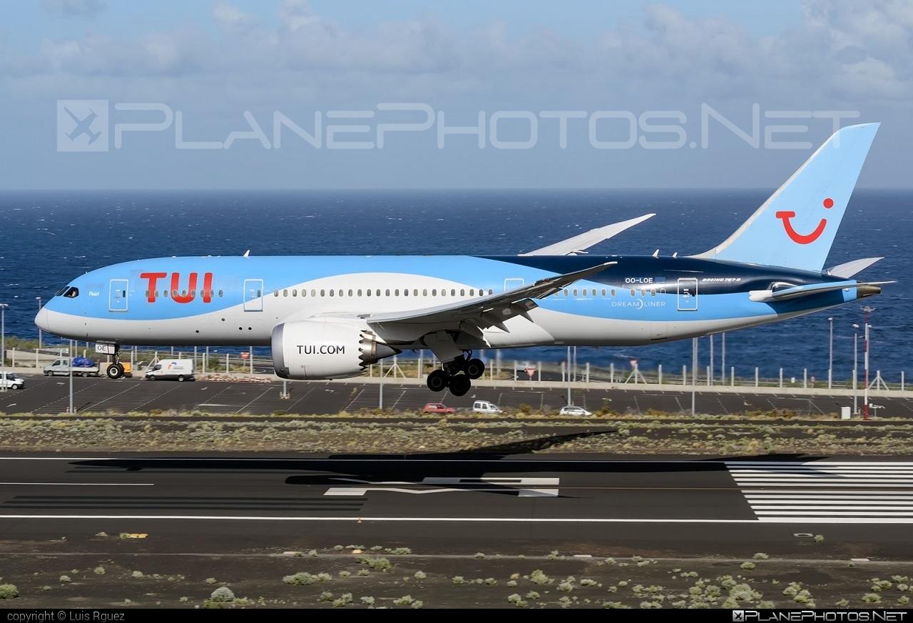 Boeing 787-8 Dreamliner - OO-LOE operated by TUI Airlines Belgium #b787 #boeing #boeing787 #dreamliner #tui #tuiairlines #tuiairlinesbelgium
