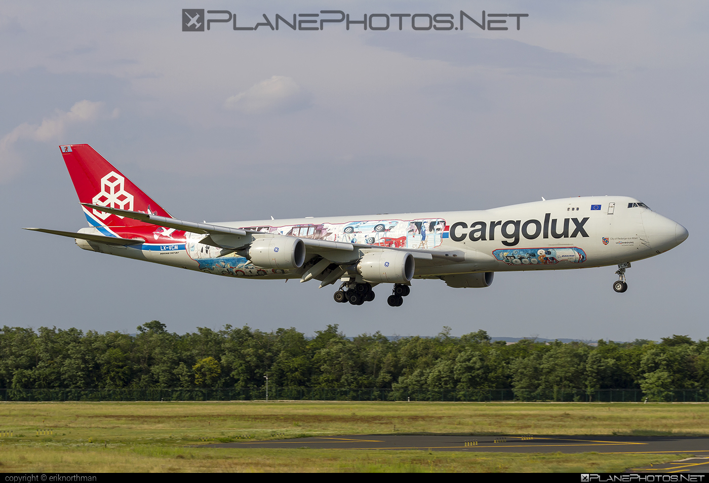 Boeing 747-8F - LX-VCM operated by Cargolux Airlines International #b747 #b747f #b747freighter #boeing #boeing747 #cargolux #jumbo
