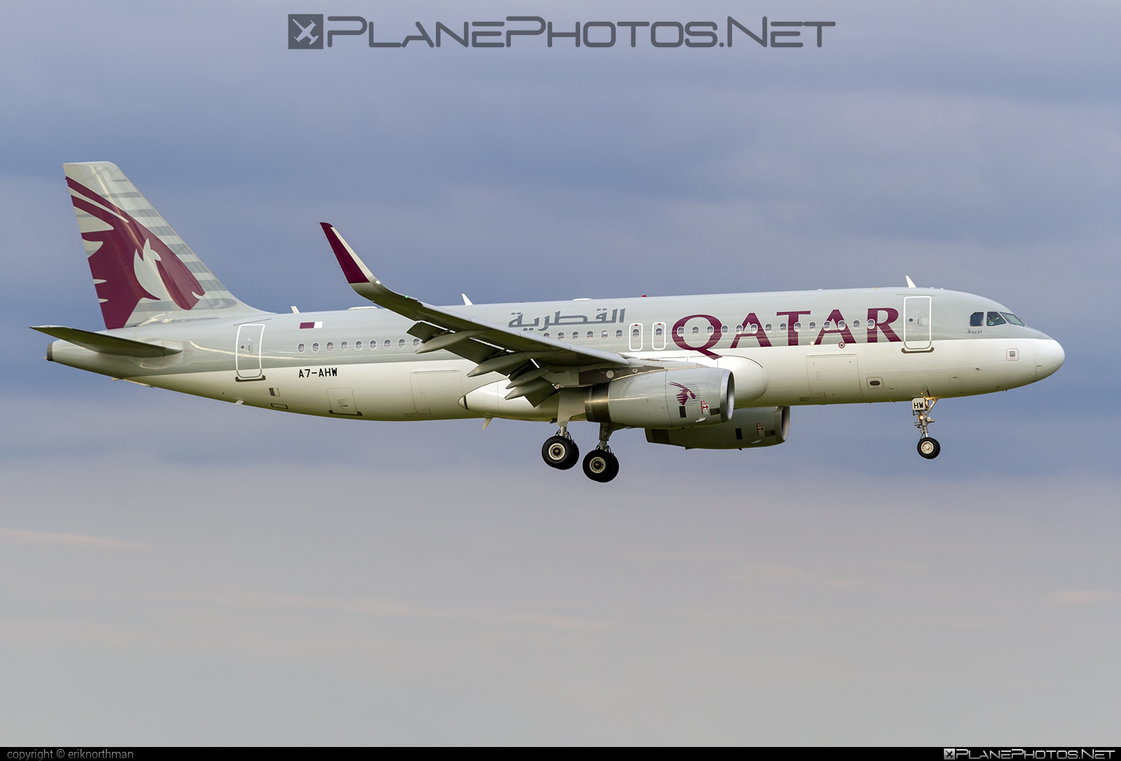 Airbus A320-232 - A7-AHW operated by Qatar Airways #a320 #a320family #airbus #airbus320 #qatarairways