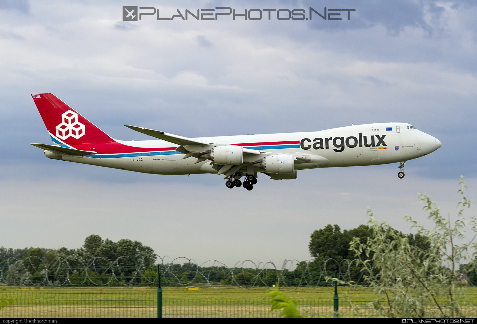 Boeing 747-8F - LX-VCC operated by Cargolux Airlines International #b747 #b747f #b747freighter #boeing #boeing747 #cargolux #jumbo