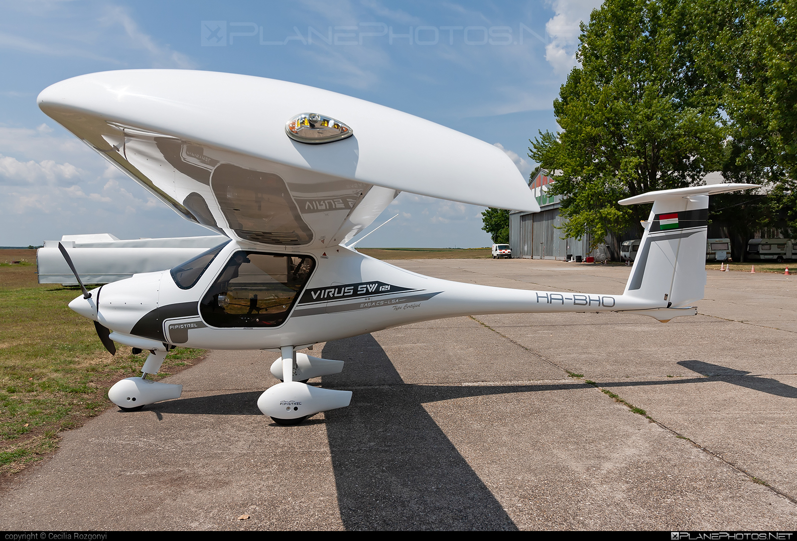 Pipistrel Virus SW 121 - HA-BHO operated by Private operator #pipistrel #pipistrelvirus #virussw121