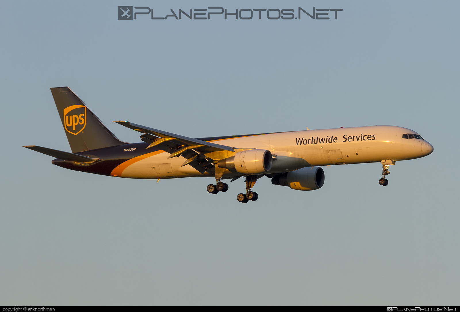 Boeing 757-200PF - N433UP operated by United Parcel Service (UPS) #b757 #boeing #boeing757 #ups #upsairlines