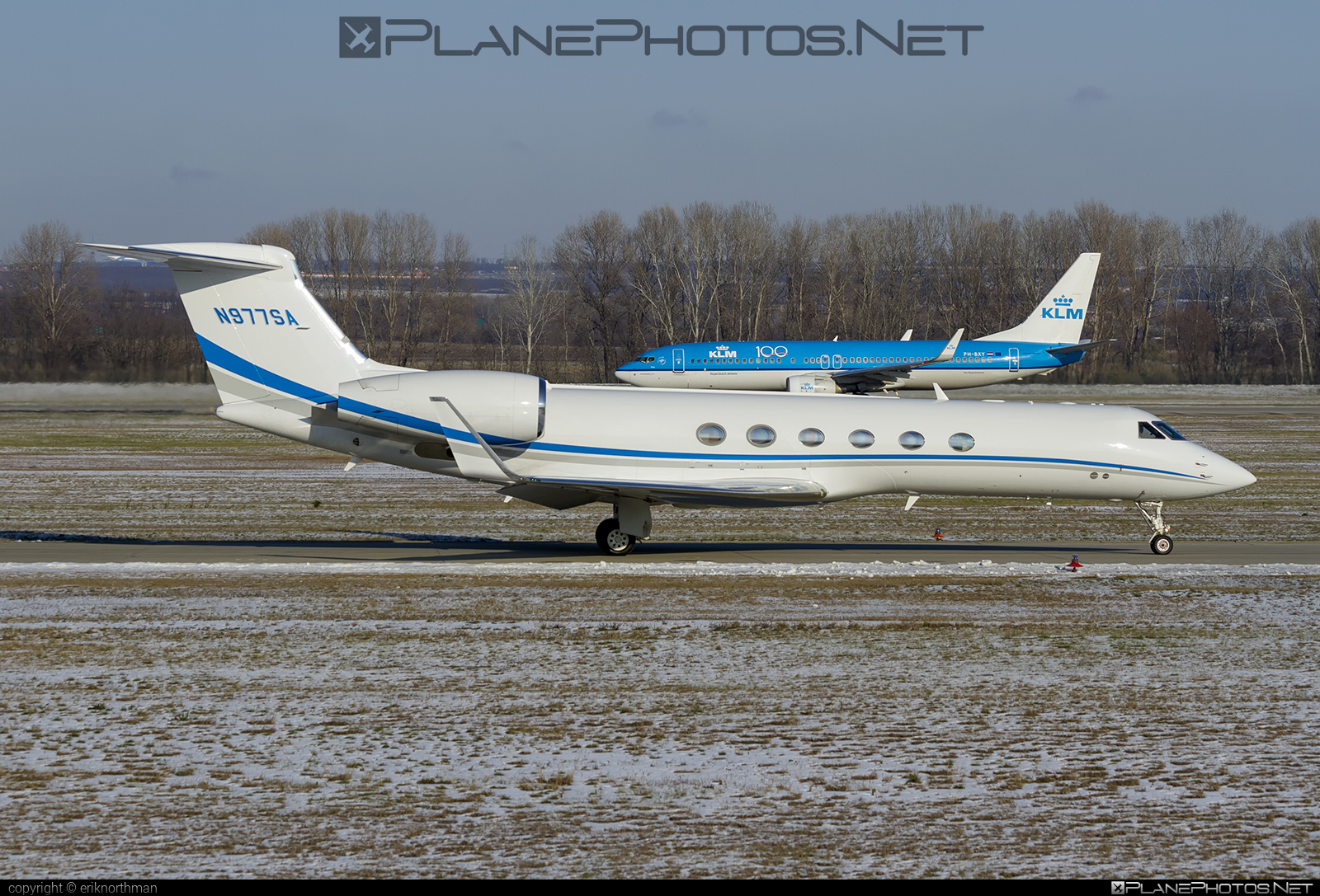 Gulfstream GV - N977SA operated by Private operator #gulfstream