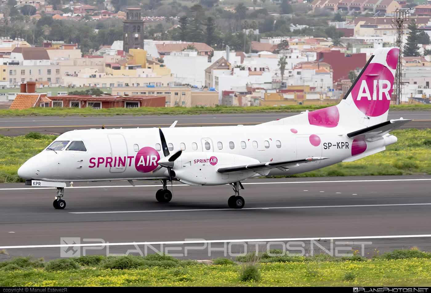Saab 340A - SP-KPR operated by SprintAir #saab