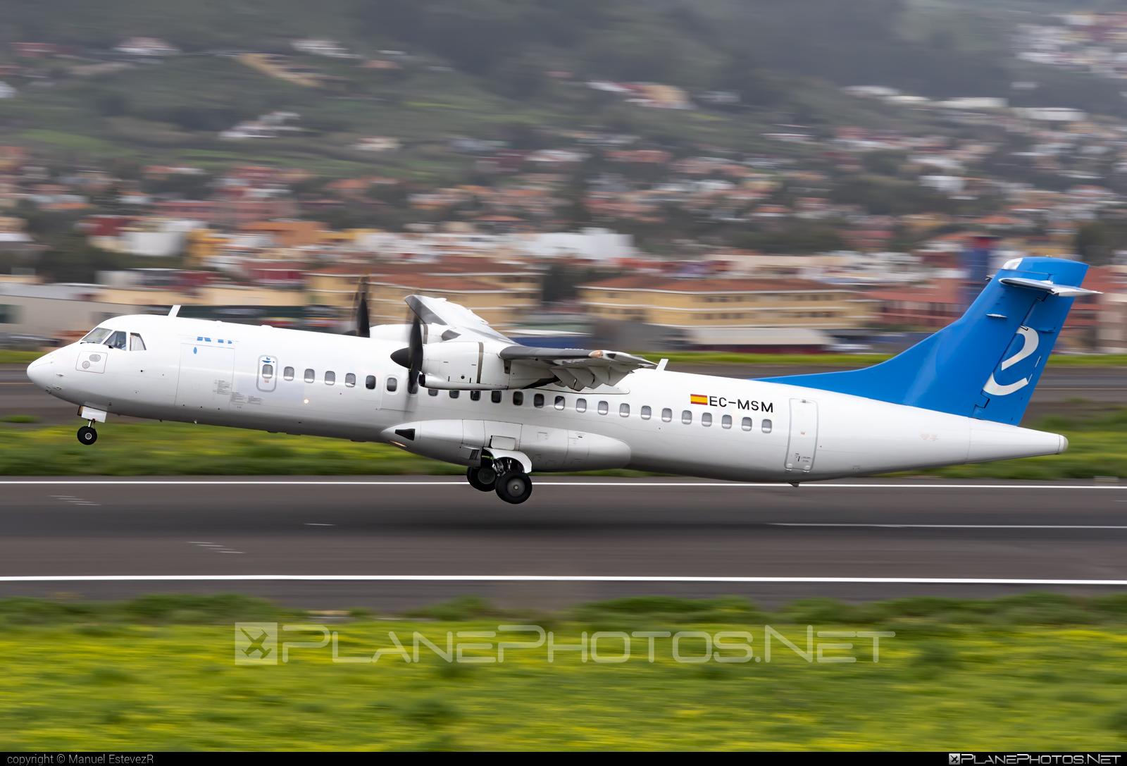 ATR 72-212A - EC-MSM operated by Canaryfly #atr