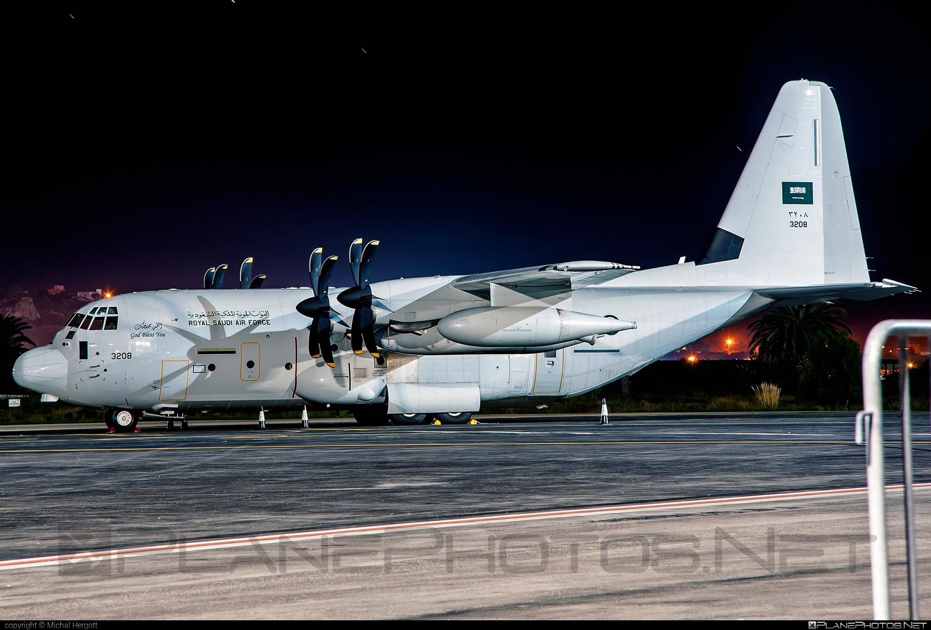 Lockheed Martin KC-130J Tanker - 3208 operated by Royal Saudi Air Force #c130 #c130j #kc130j #lockheedmartin