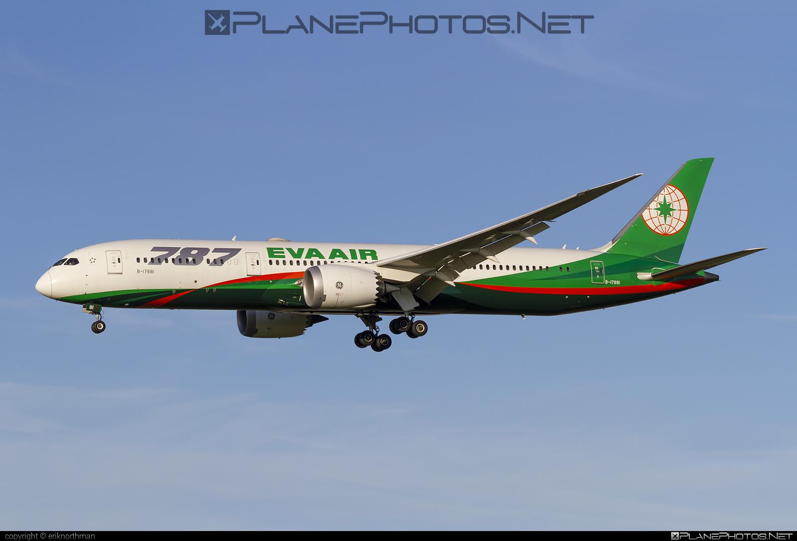 Boeing 787-9 Dreamliner - B-17881 operated by EVA Air #b787 #boeing #boeing787 #dreamliner