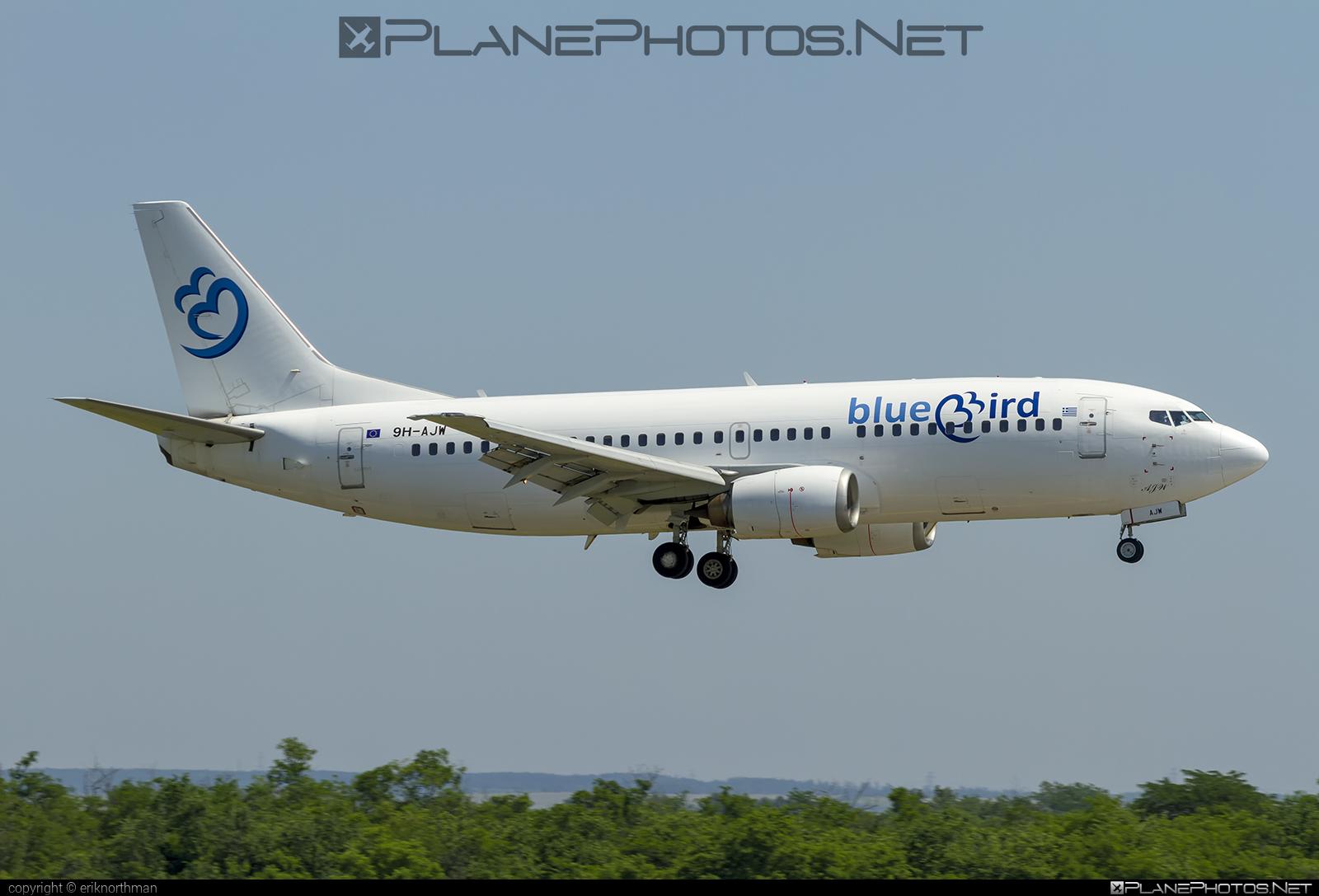 Boeing 737-300 - 9H-AJW operated by Bluebird Airways #b737 #boeing #boeing737
