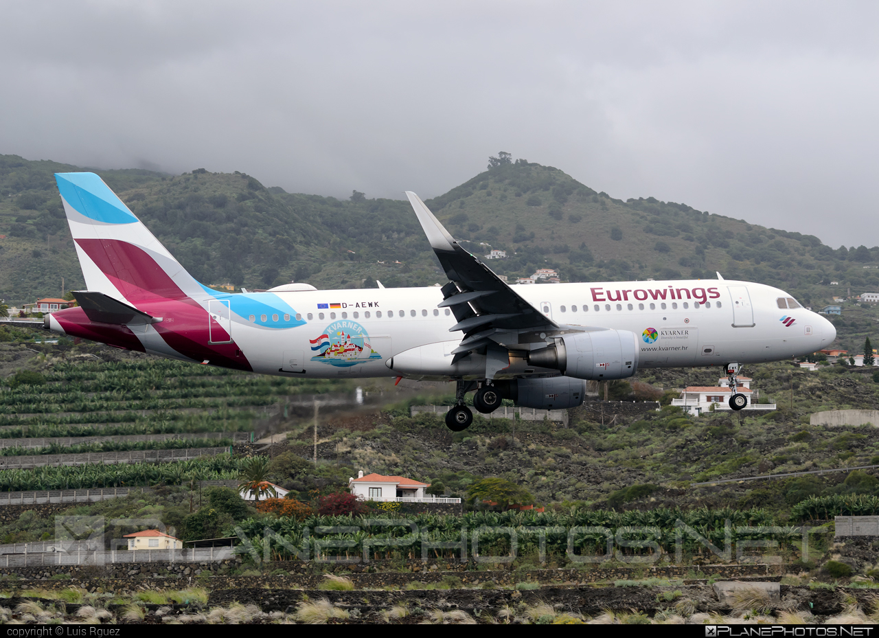 Airbus A320-214 - D-AEWK operated by Eurowings #a320 #a320family #airbus #airbus320 #eurowings