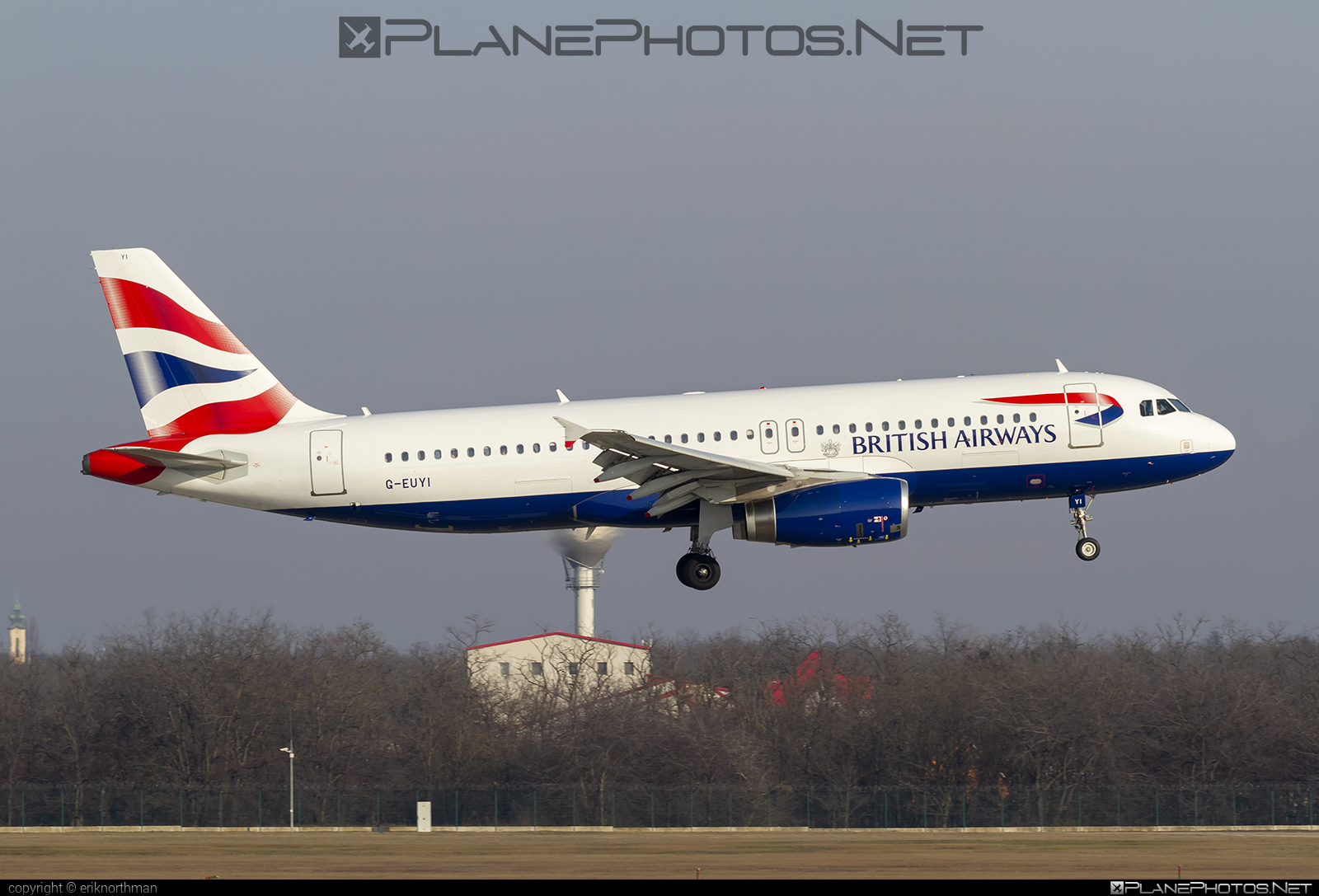 Airbus A320-232 - G-EUYI operated by British Airways #a320 #a320family #airbus #airbus320 #britishairways