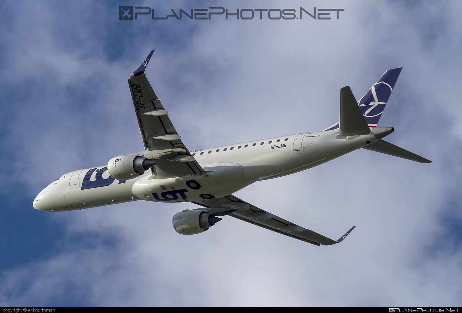 Embraer E190STD (ERJ-190-100STD) - SP-LMB operated by LOT Polish Airlines #e190 #e190100 #e190100std #e190std #embraer #embraer190 #embraer190100std #embraer190std #lot #lotpolishairlines