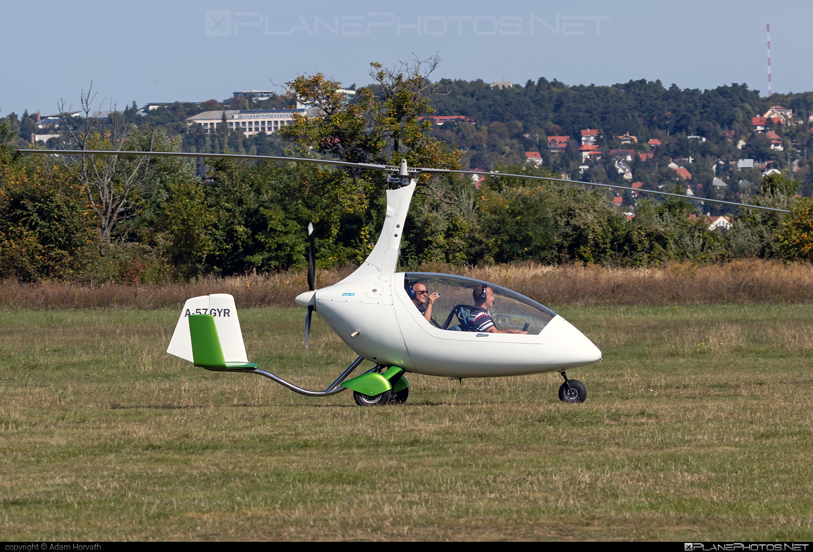 AutoGyro Calidus - A-57GYR operated by Private operator #autogyro