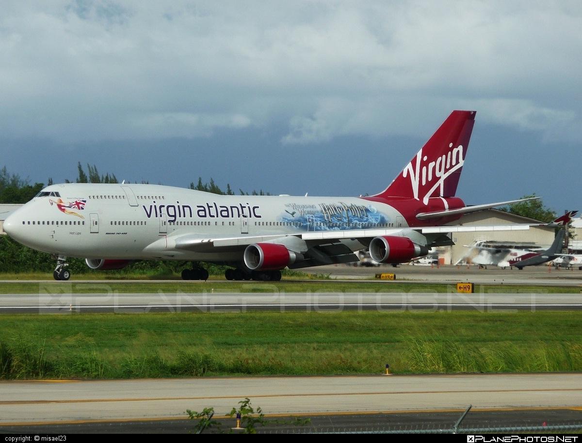 Boeing 747-400 - G-VLIP operated by Virgin Atlantic Airways #b747 #boeing #boeing747 #jumbo #virginatlantic #virginatlanticairways