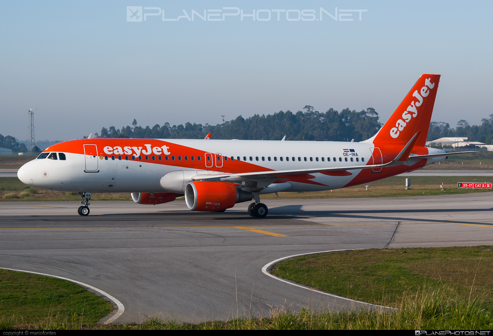 Airbus A320-214 - OE-INA operated by easyJet Europe #a320 #a320family #airbus #airbus320 #easyjet #easyjeteurope