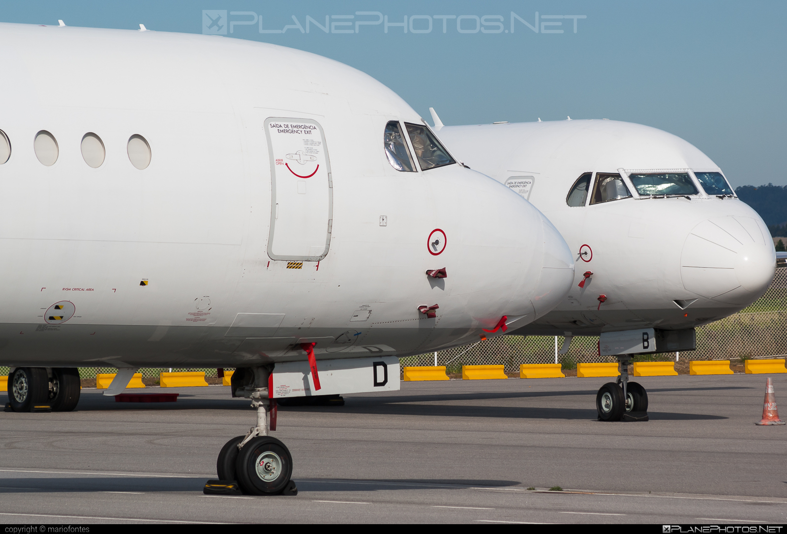 Fokker 100 - CS-TPD operated by Portugália Airlines #fokker #portugaliaairlines