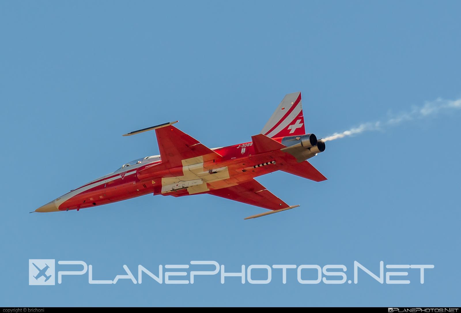 Northrop F-5E Tiger II - J-3088 operated by Schweizer Luftwaffe (Swiss Air Force) #northrop