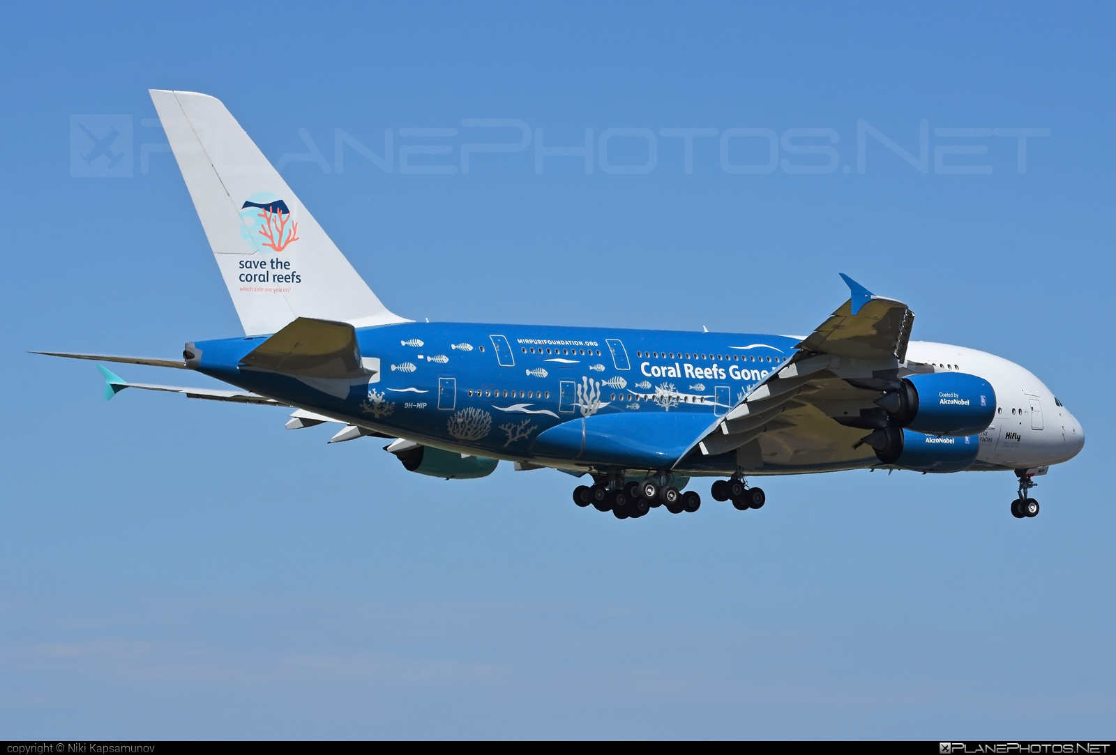 Airbus A380-841 - 9H-MIP operated by Hi Fly Malta #a380 #a380family #airbus #airbus380 #hifly #hiflymalta