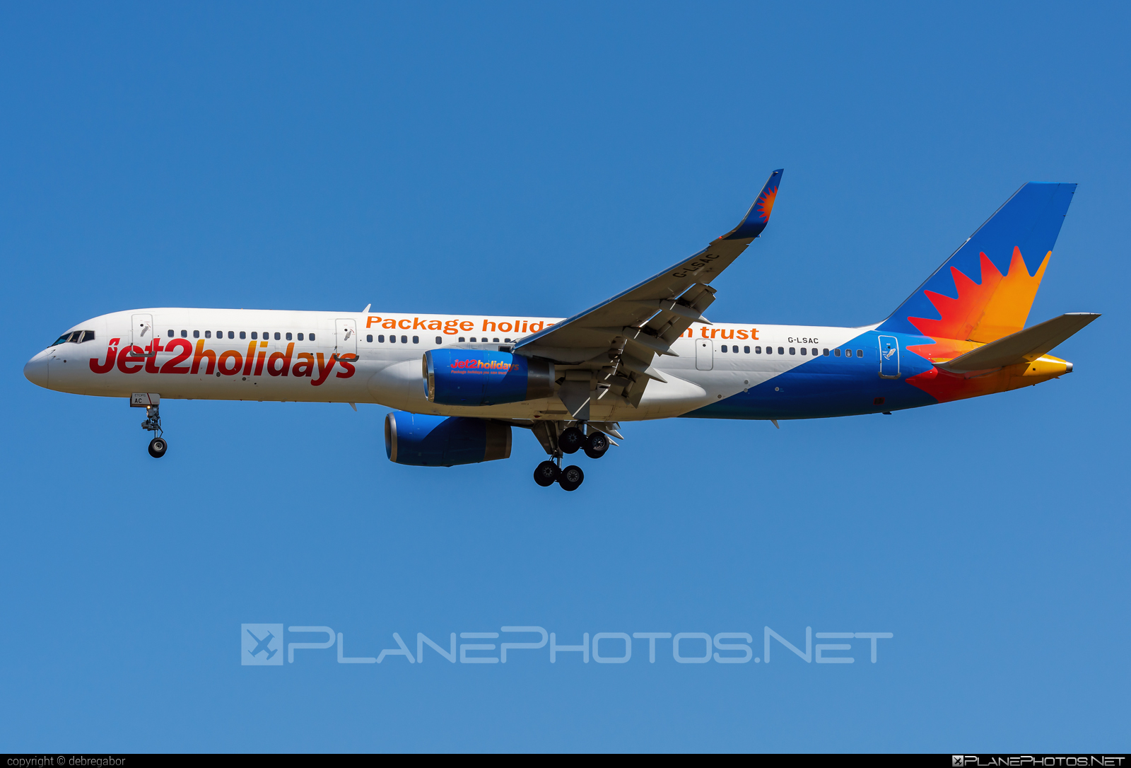 Boeing 757-200 - G-LSAC operated by Jet2 #b757 #boeing #boeing757 #jet2