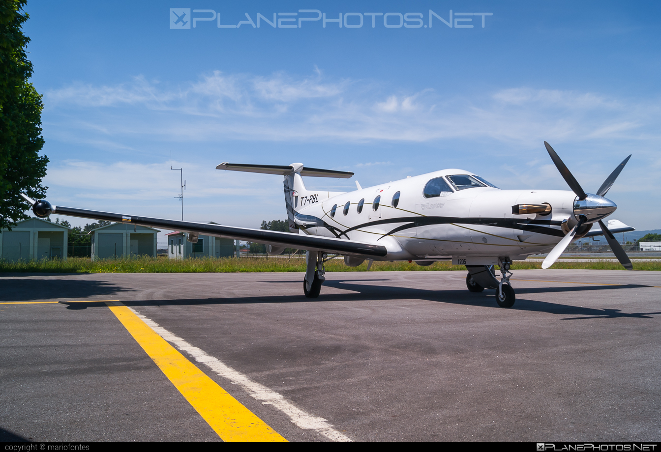 Pilatus PC-12/47E - T7-PBL operated by Private operator #pilatus