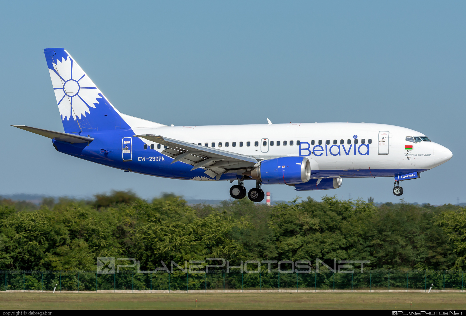 Boeing 737-500 - EW-290PA operated by Belavia Belarusian Airlines #b737 #belavia #boeing #boeing737