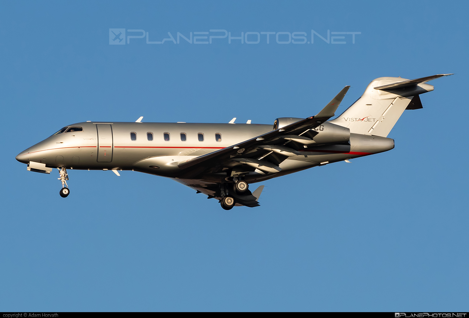 Bombardier Challenger 300 (BD-100-1A10) - 9H-VCG operated by VistaJet #bd1001a10 #bombardier #challenger300 #vistajet