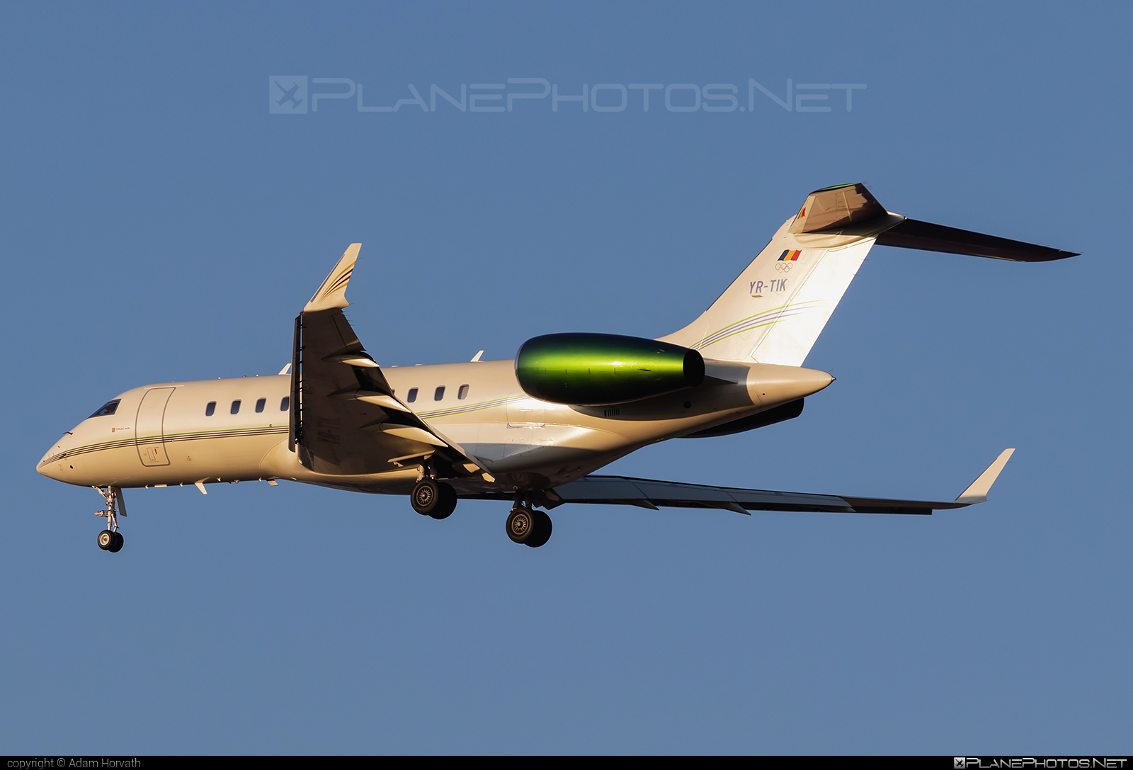 Bombardier Global 5000 (BD-700-1A11) - YR-TIK operated by Tiriac Air #bd7001a11 #bombardier #bombardierglobal5000 #global5000 #tiriacair