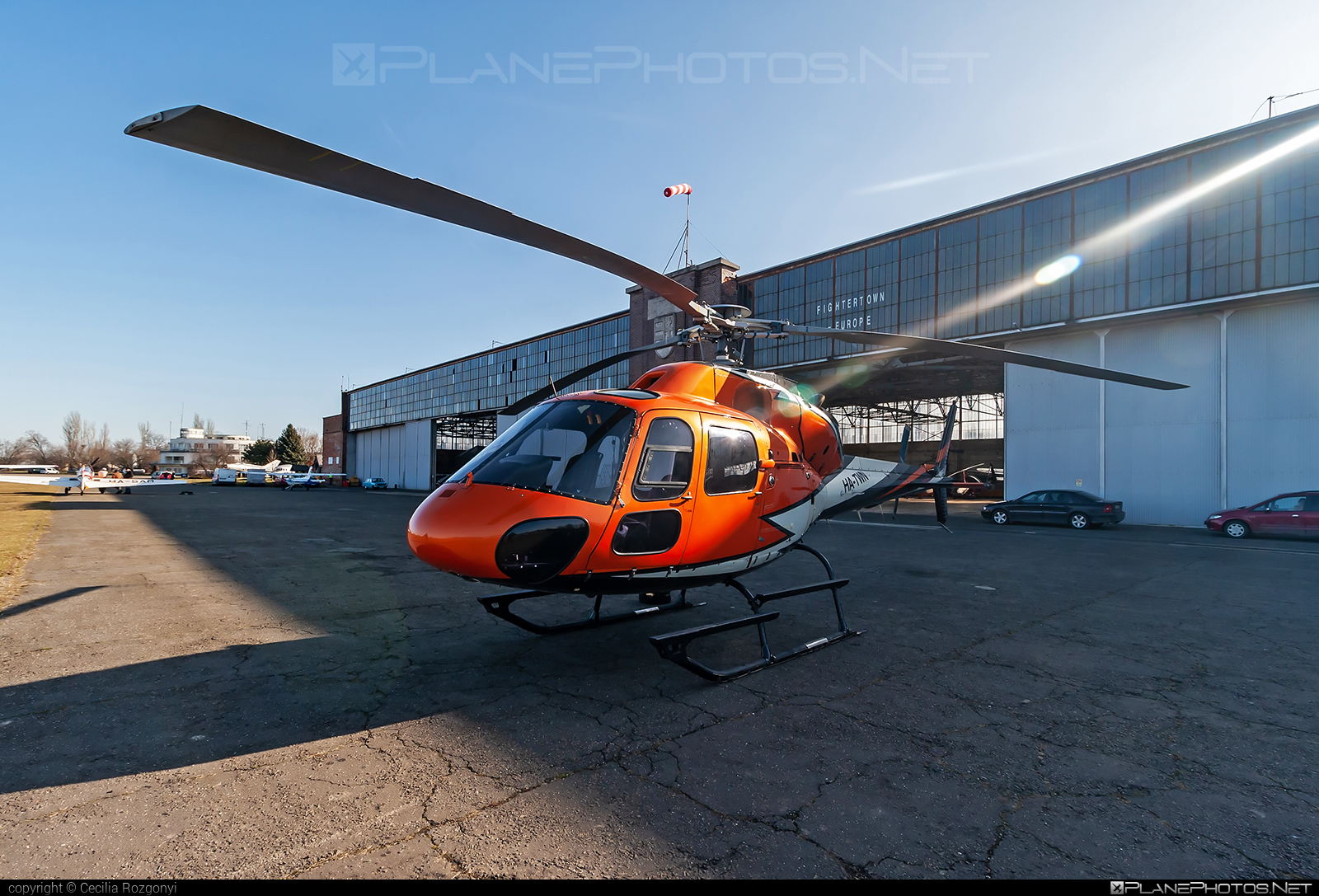 Eurocopter AS355 F2 Ecureuil 2 - HA-TWN operated by Fly4Less Helicopter #eurocopter #fly4lesshelicopter