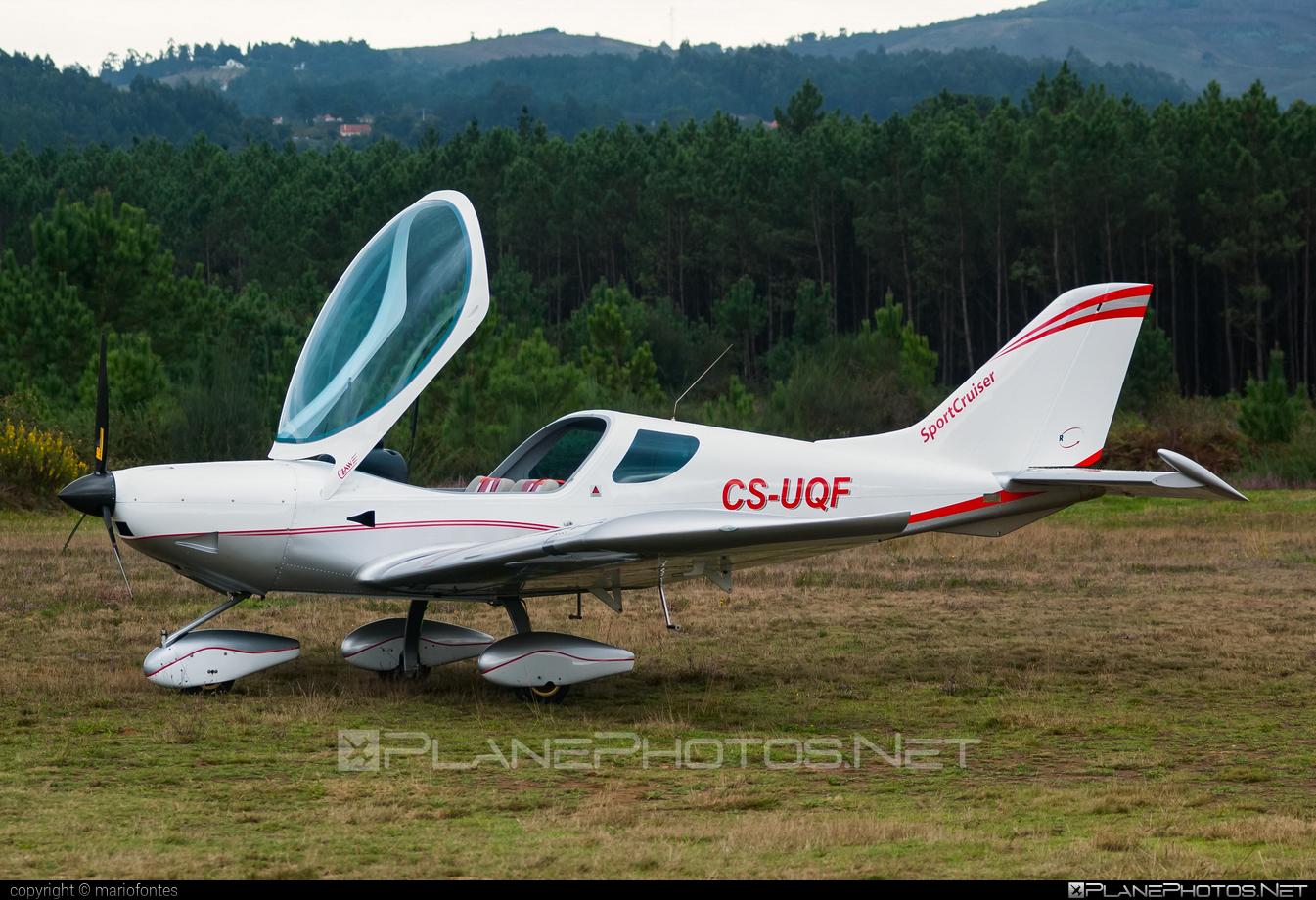 Czech Sport Aircraft SportCruiser - CS-UQF operated by Private operator #czechsportaircraft