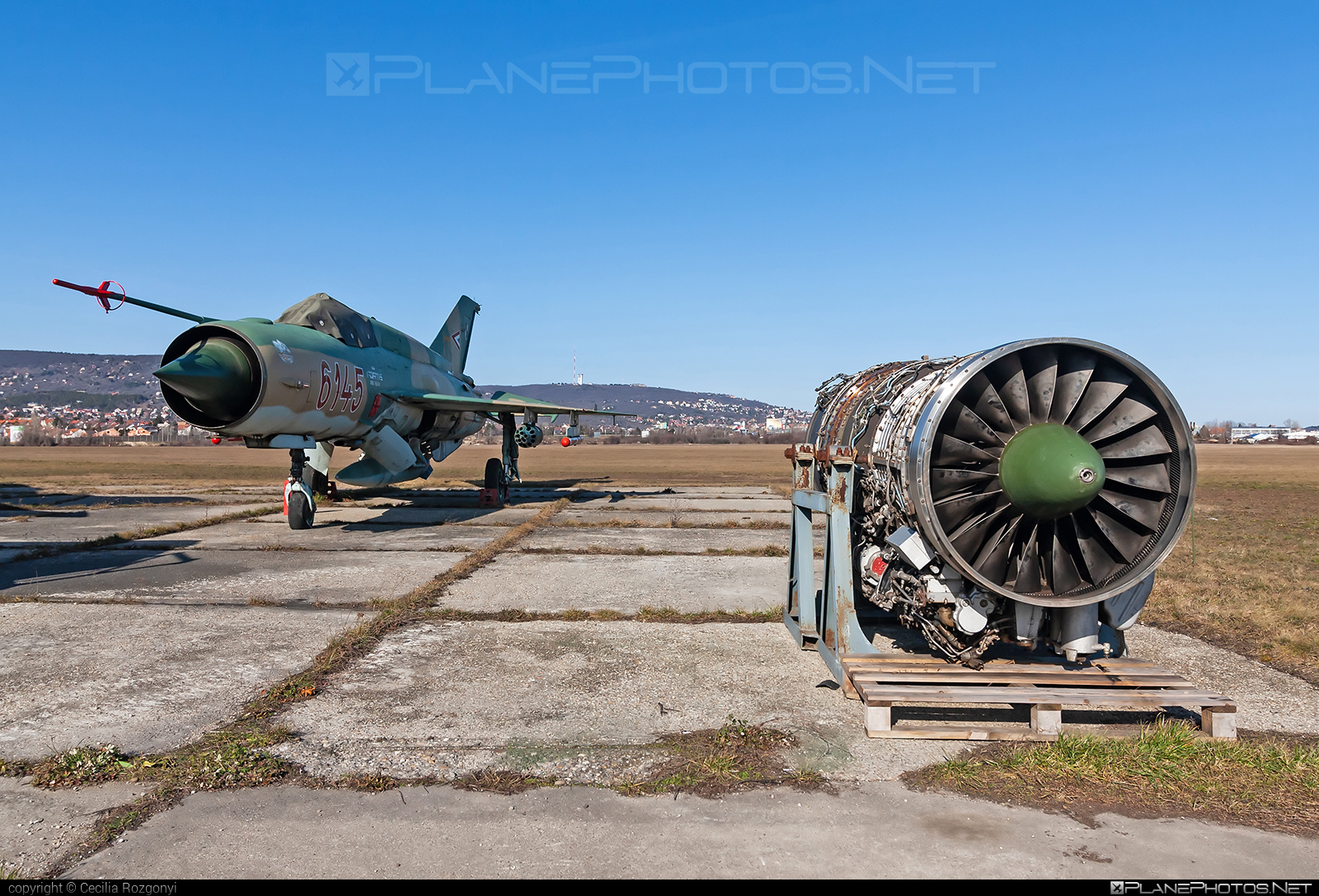 Mikoyan-Gurevich MiG-21bis - 6145 operated by Magyar Légierő (Hungarian Air Force) #hungarianairforce #magyarlegiero #mig #mig21 #mig21bis #mikoyangurevich