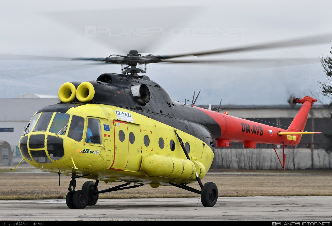 Mil Mi-8T - OM-AVS operated by UTair Aviation #mil #milhelicopters #utair #utairaviation