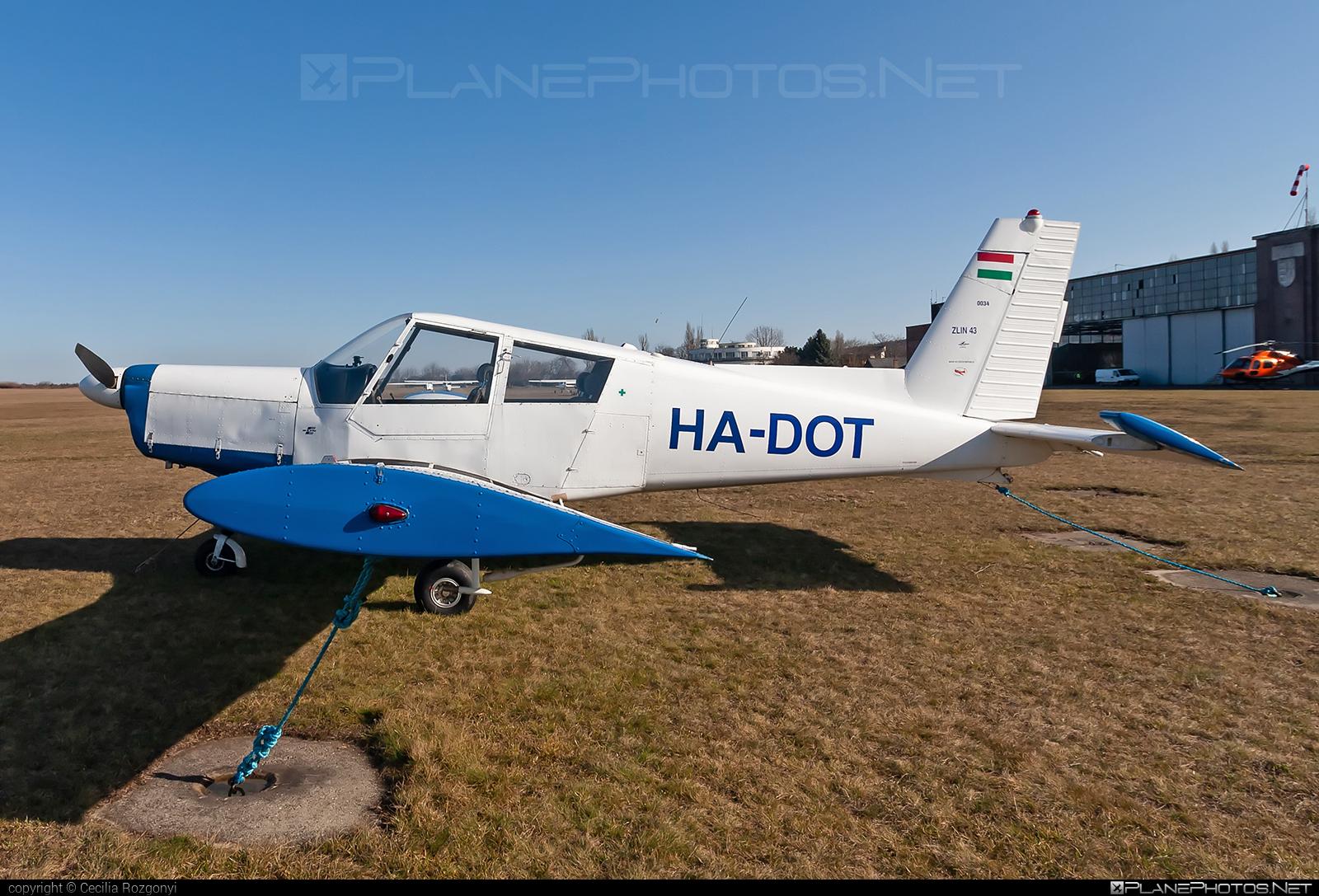 Zlin Z-43 - HA-DOT operated by Private operator #z43 #zlin #zlin43