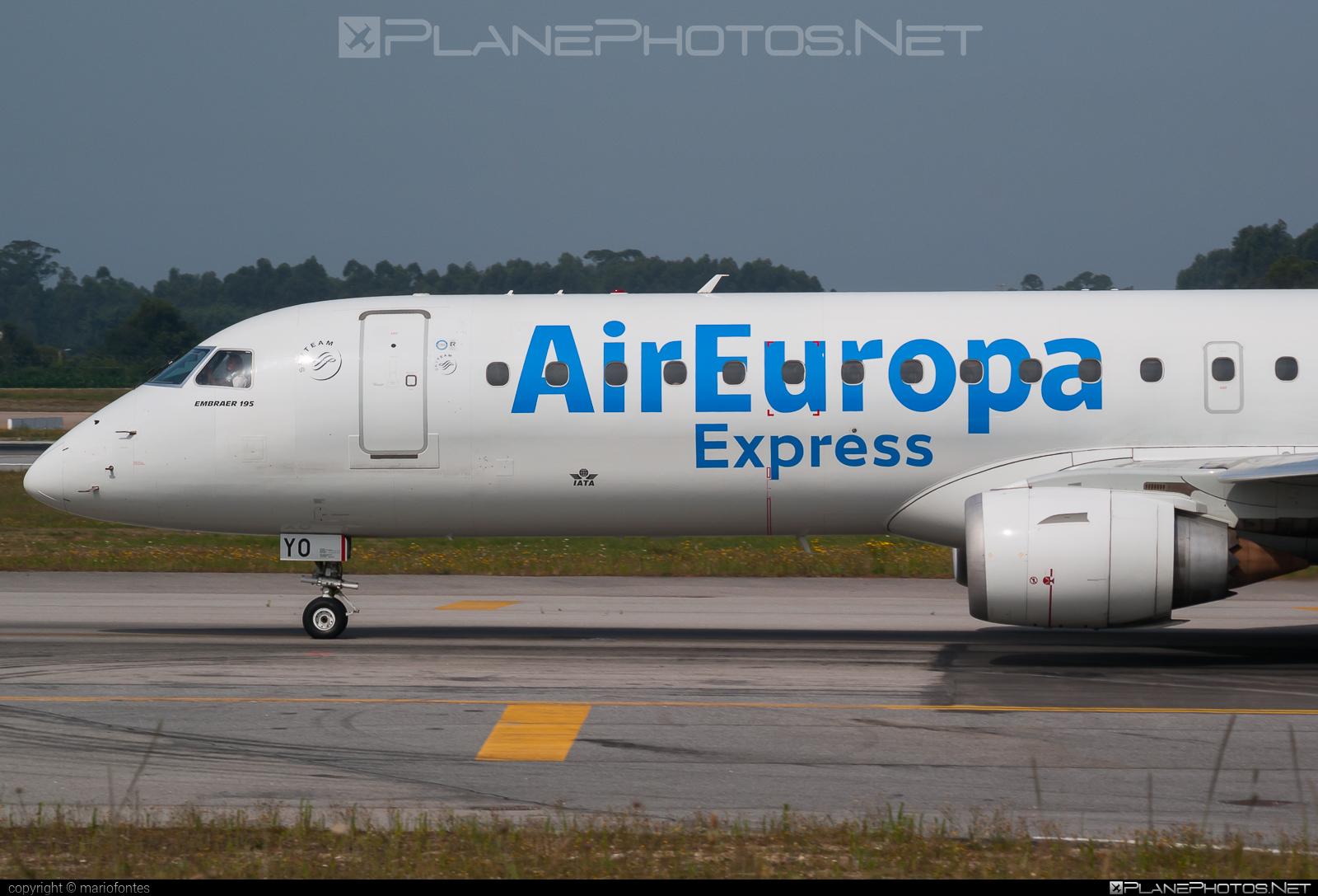 Embraer E195LR (ERJ-190-200LR) - EC-KYO operated by Air Europa Express #e190 #e190200 #e190200lr #e195lr #embraer #embraer190200lr #embraer195 #embraer195lr
