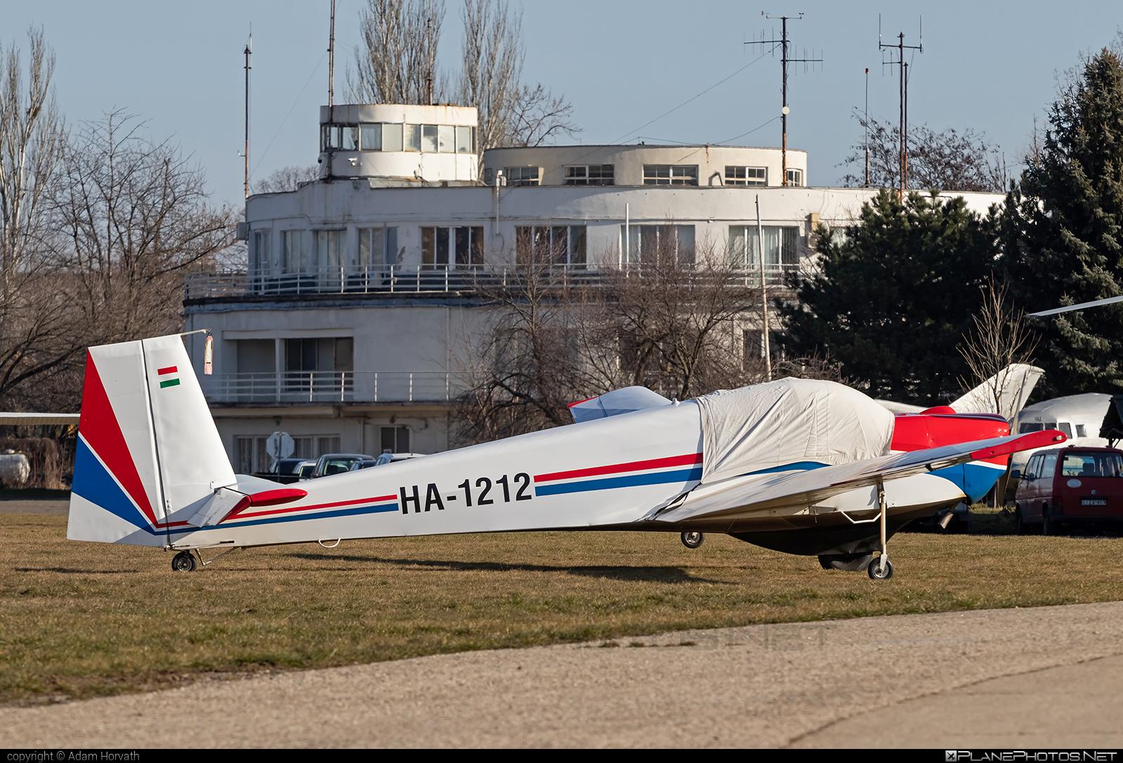 Scheibe SF-25D Falke - HA-1212 operated by Private operator #scheibe #scheibefalke #sf25 #sf25d
