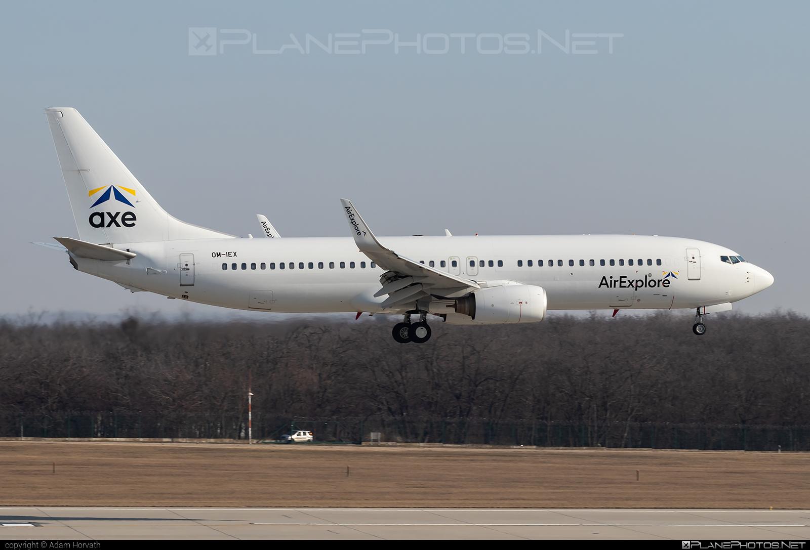 Boeing 737-800 - OM-IEX operated by AirExplore #b737 #b737nextgen #b737ng #boeing #boeing737