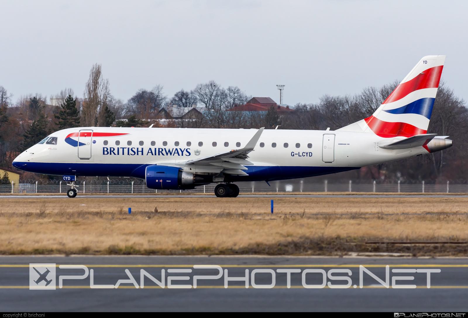 Embraer E170STD (ERJ-170-100STD) - G-LCYD operated by BA CityFlyer #e170 #embraer #embraer170 #embraer170std #erj170 #erj170100 #erj170100std #erj170std
