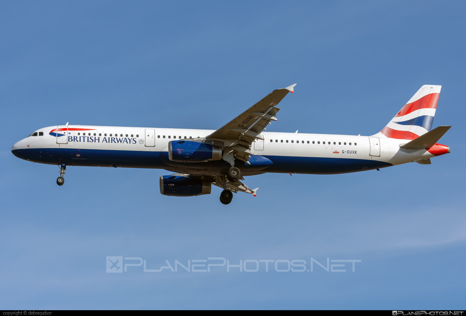 Airbus A321-231 - G-EUXK operated by British Airways #a320family #a321 #airbus #airbus321 #britishairways