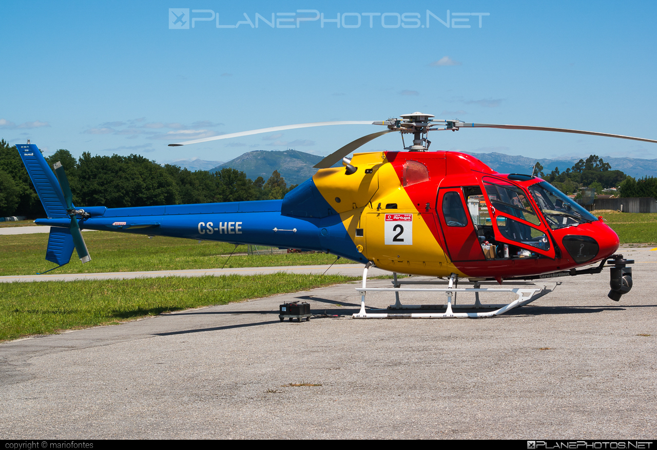 Aerospatiale AS355 F1 Ecureuil 2 - CS-HEE operated by HTA Helicópteros #aerospatiale #htahelicopteros