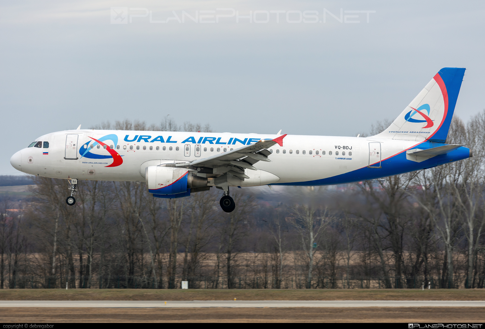 Airbus A320-214 - VQ-BDJ operated by Ural Airlines #a320 #a320family #airbus #airbus320