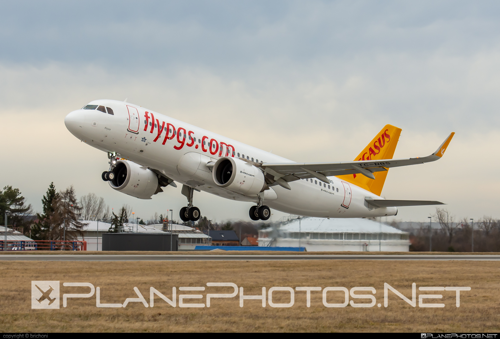 Airbus A320-251N - TC-NBS operated by Pegasus Airlines #a320 #a320family #a320neo #airbus #airbus320