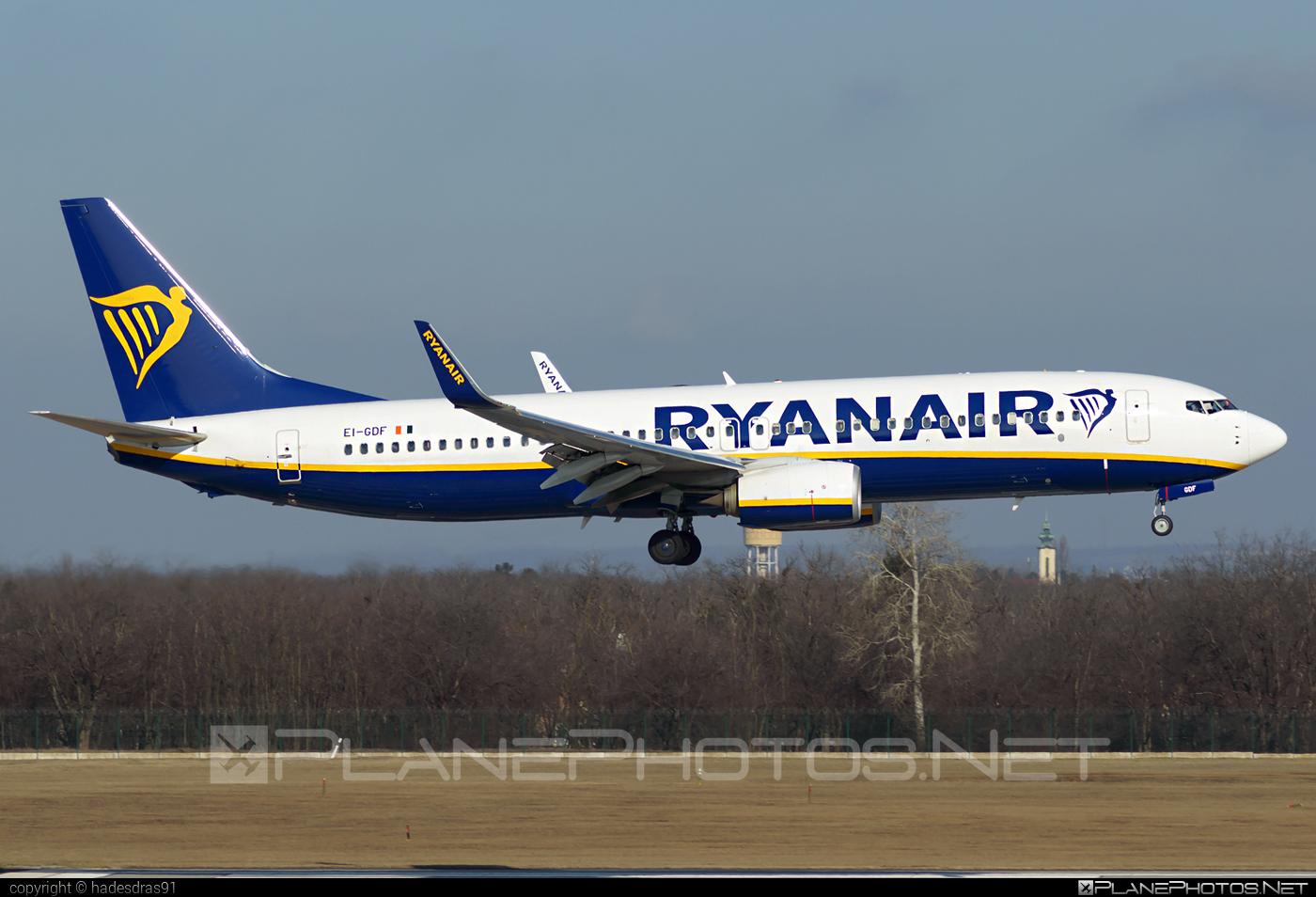 Boeing 737-800 - EI-GDF operated by Ryanair #b737 #b737nextgen #b737ng #boeing #boeing737 #ryanair