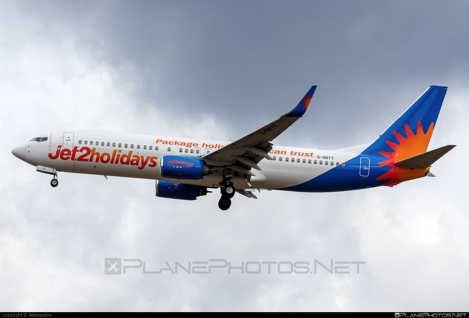 Boeing 737-800 - G-DRTT operated by Jet2holidays #b737 #b737nextgen #b737ng #boeing #boeing737 #jet2holidays