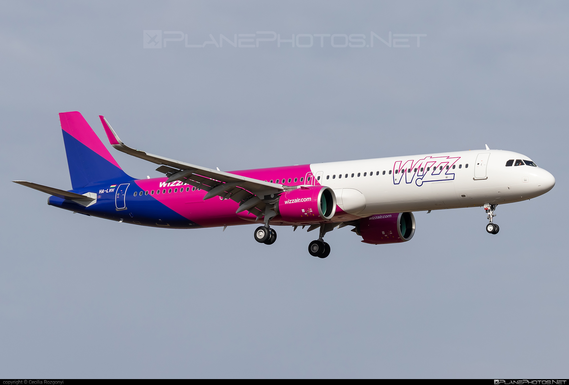 Airbus A321-271NX - HA-LVH operated by Wizz Air #a320family #a321 #a321neo #airbus #airbus321 #airbus321lr #wizz #wizzair