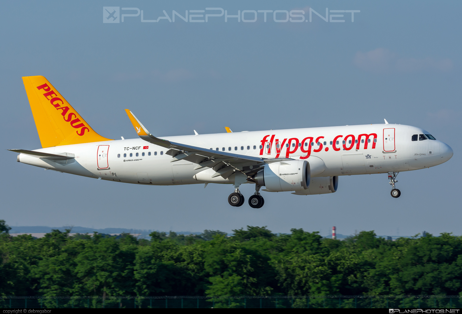 Airbus A320-251N - TC-NCF operated by Pegasus Airlines #a320 #a320family #a320neo #airbus #airbus320