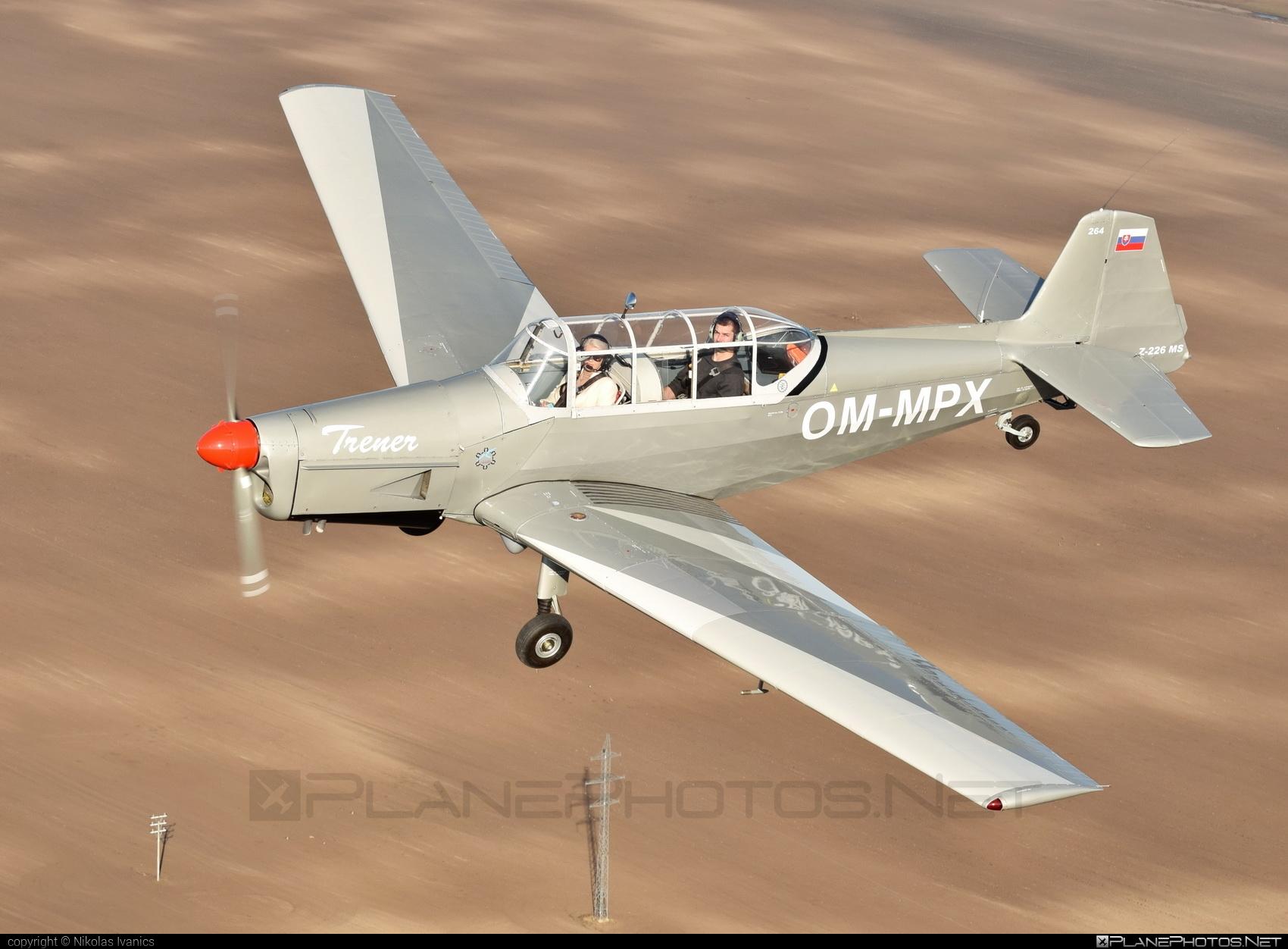 Zlin Z-226MS Trenér - OM-MPX operated by Aeroklub Nové Zámky #z226 #z226trener #zlin #zlin226 #zlintrener