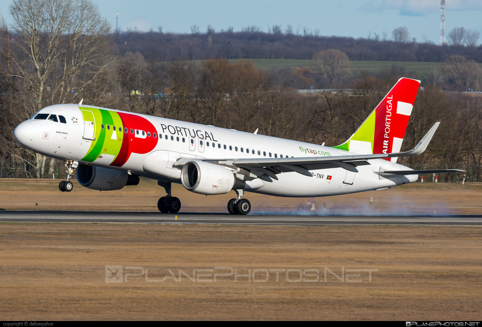 Airbus A320-214 - CS-TNV operated by TAP Portugal #a320 #a320family #airbus #airbus320