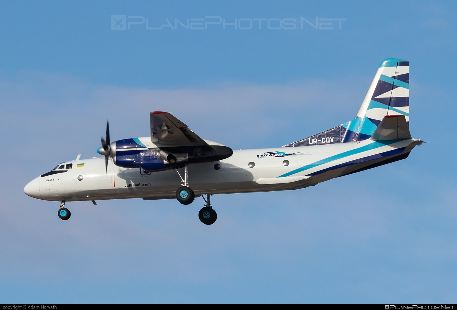 Antonov An-26B - UR-CQV operated by Vulkan Air #an26 #an26b #antonov #antonov26 #vulkanair