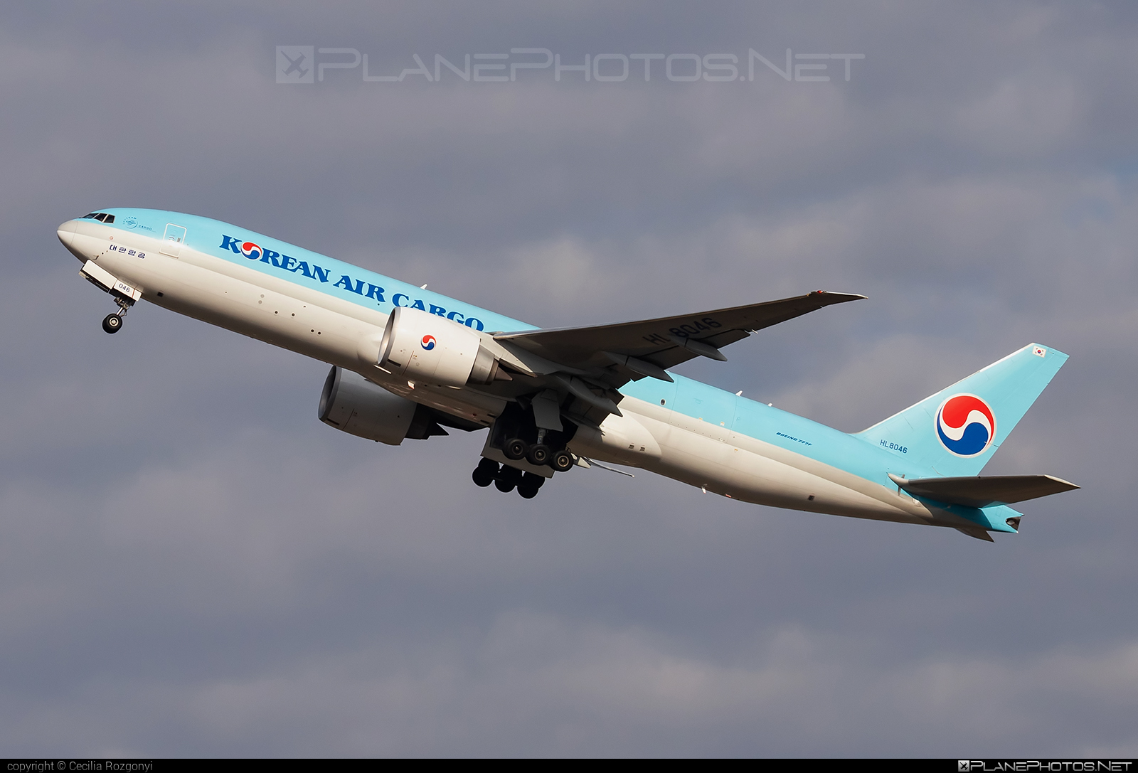 Boeing 777F - HL8046 operated by Korean Air Cargo #b777 #b777f #b777freighter #boeing #boeing777 #koreanair #koreanaircargo #tripleseven