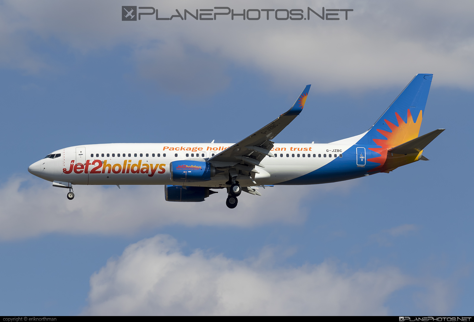 Boeing 737-800 - G-JZBC operated by Jet2holidays #b737 #b737nextgen #b737ng #boeing #boeing737 #jet2holidays