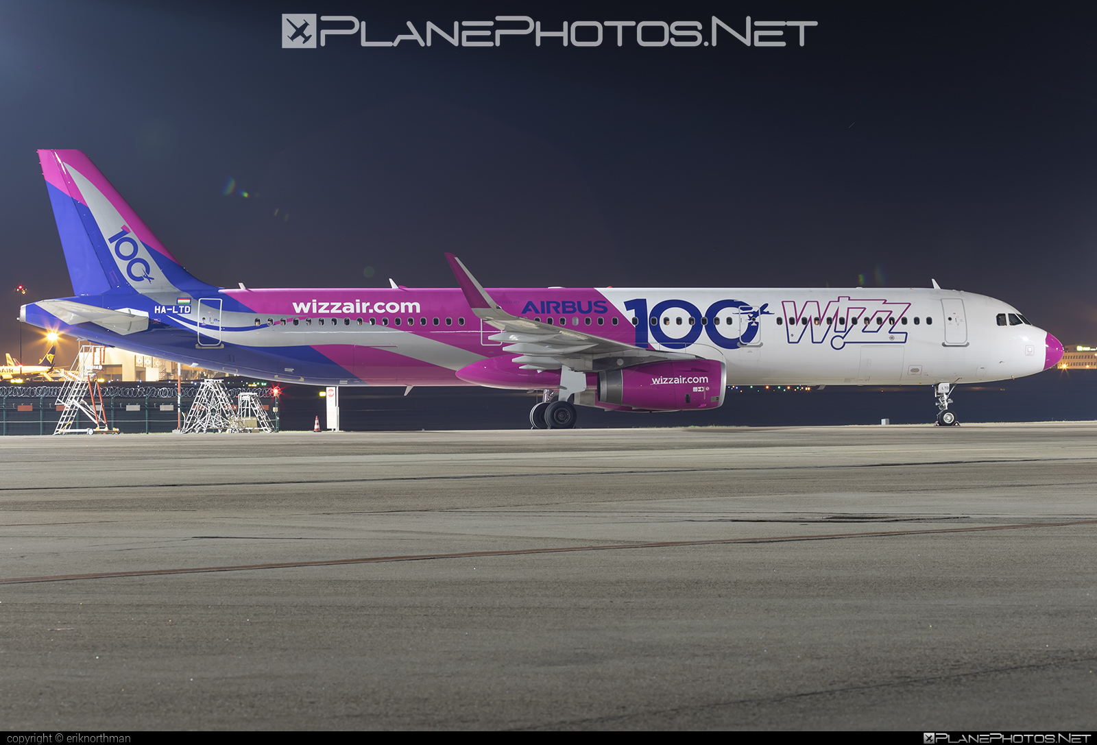 Airbus A321-231 - HA-LTD operated by Wizz Air #a320family #a321 #airbus #airbus321 #wizz #wizzair