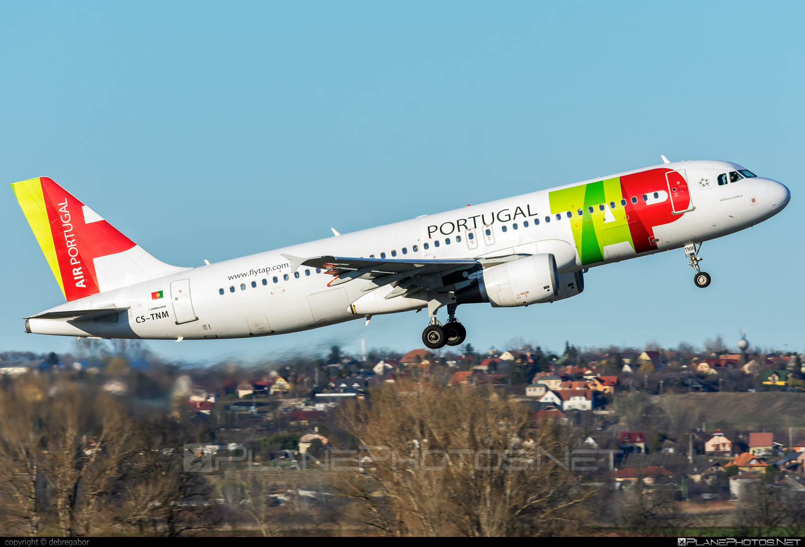 Airbus A320-214 - CS-TNM operated by TAP Portugal #a320 #a320family #airbus #airbus320